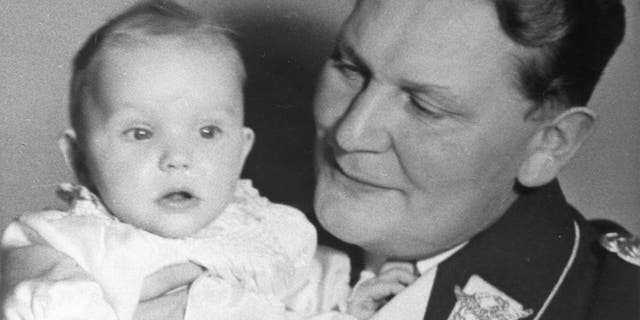 After World War II, Edda's father Hermann Goering was convicted of war crimes and sentenced to death. The night his execution was ordered, he committed suicide by poison