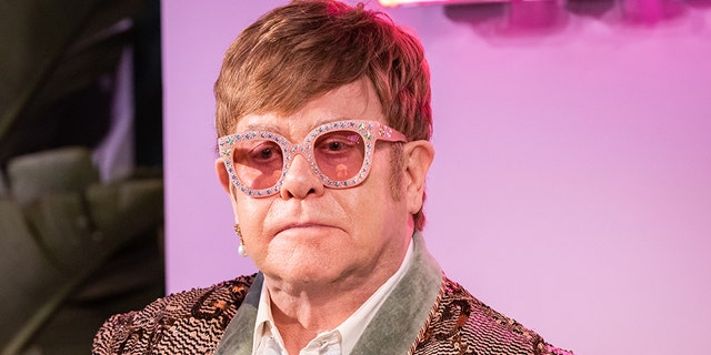 Elton John attends IMDb LIVE At The Elton John AIDS Foundation Academy Awards® Viewing Party on February 24, 2019, in Los Angeles, California.
