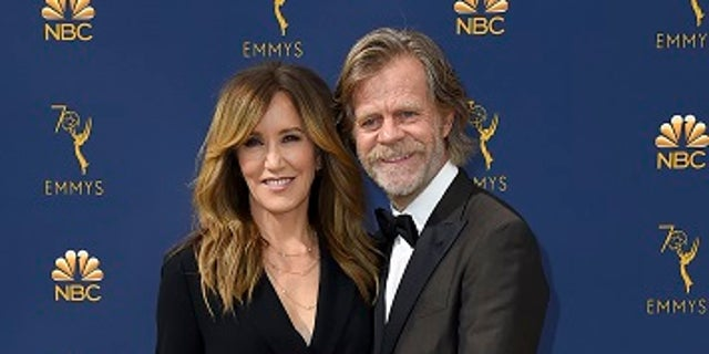 Huffman's husband William H. Macy wrote a letter praising Huffman's character and asking for mercy. (Photo by Jordan Strauss/Invision/AP, File)