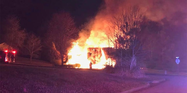 Investigators said the fire may have been started after a stove was left on accidentally.
