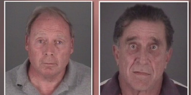 Port Richey acting Mayor Terrence Rowe (left) and former Mayor Dale Glen Massad are facing conspiracy charges.