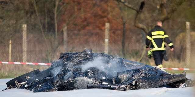 A plane crash in Germany killed one of Russia's richest women, reports said. (AP Photo/Michael Probst)