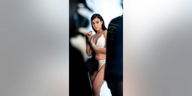 Model Georgina Rodriguez