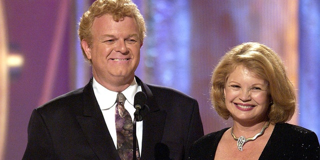 "Johnny Whitaker and Kathy Garver of the original ""Family Affair."" — Getty"