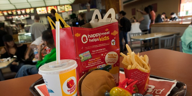 Happy Meals have been sold at McDonald's since 1979.
