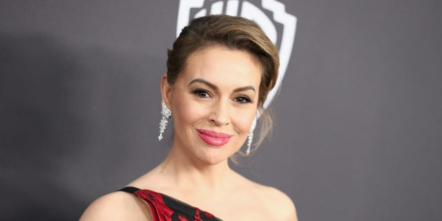 Alyssa Milano spoke out about the vice presidential debate.