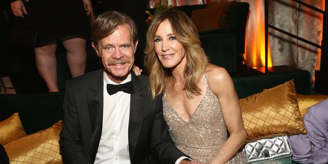 Felicity Huffman and husband William H. Macy.