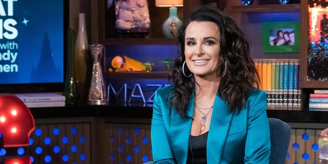 Kyle Richards praised her daughter for hitting back at a fan asking her if she bribed her way into college.