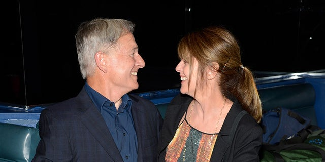 Mark Harmon and wife Pam Dawber attend the Rolling Stones performance at Echoplex on April 27, 2013, in Los Angeles.