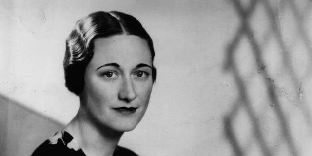 American socialite Wallis Simpson (nee Bessie Wallis Warfield) (1896 - 1986) a week before King Edward VIII abdicated. She became Duchess of Windsor in Jun 1937 after her matrimony to Edward VIII, Duke of Windsor.