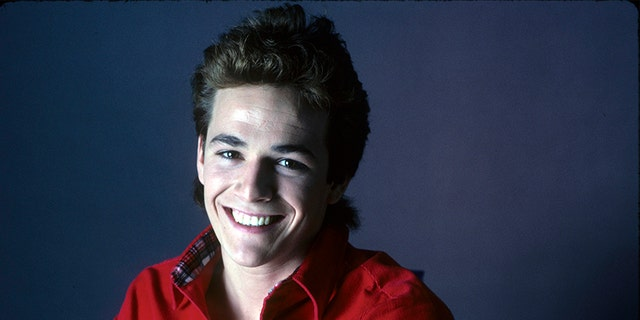 Luke Perry in 1987. — ABC via Getty Images