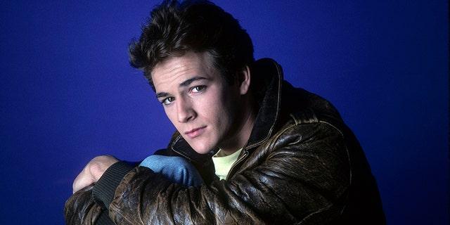 Luke Perry in 1987.