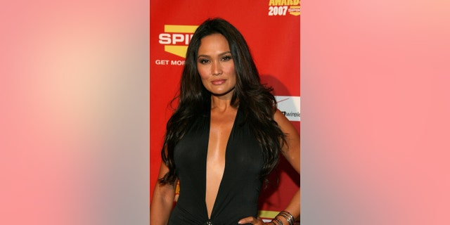 """Tia Carrere arrives at Spike TV's 2007 """"Video Game Awards"""" at the Mandalay Bay Events Center on Dec. 7, 2007 in Las Vegas."""