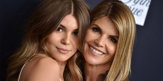 Lori Loughlin and daughter Olivia Jade Giannulli attend an Unforgettable Evening Benefit Gala at the Cancer Research Fund at Beverly Wilshire Four Seasons Hotel on February 27, 2018, in Beverly Hills, California.
