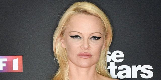 Pamela Anderson said Big Tech companies are seeking 'control over your brain.'