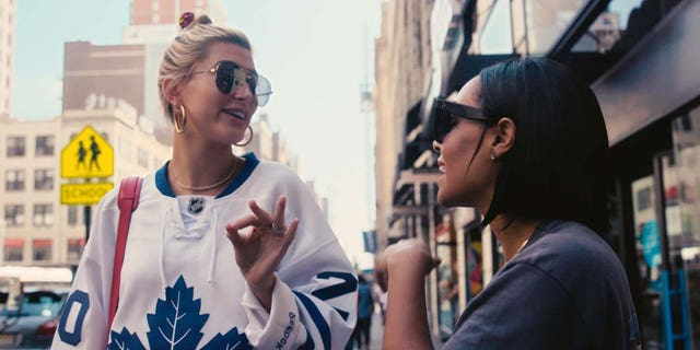 """Supermodel Hailey Baldwin and Hillsong Channel's """"NOW with Natalie"""" host, Natalie Manuel Lee talk about faith and purpose on the streets of New York City in the debut episode of the new show."""