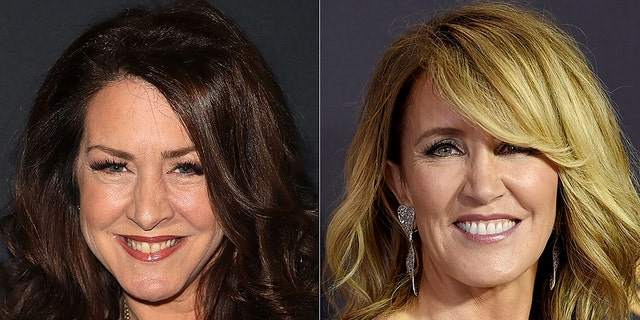 "Joely Fisher (left) played Felicity Huffman's (right) boss on ""Desperate Housewives."""
