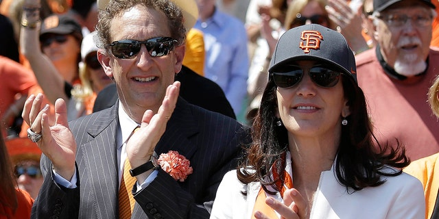 FILE - Baer quickly apologized for an altercation last month while his wife Pam issued a statement to clarify what had happened and confirm the couple was still happily married. (Associated Press)