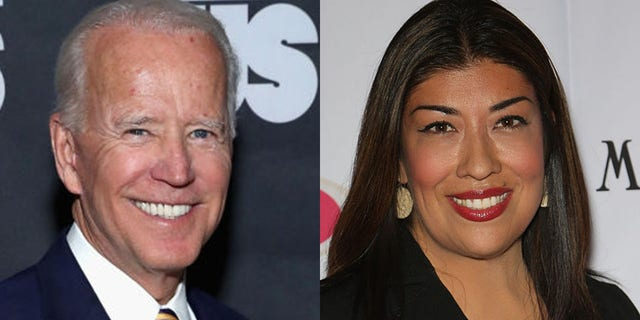 A former Democratic candidate in Nevada accused former Vice President Joe Biden of inappropriate conduct at a campaign event in 2014.