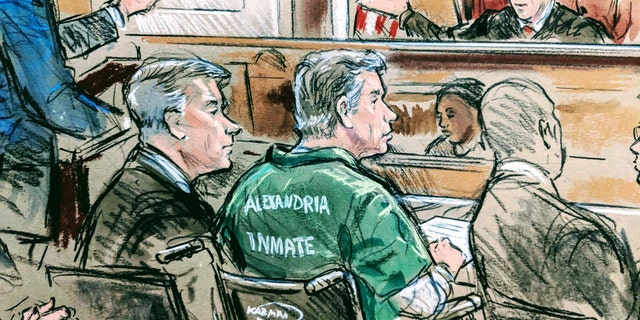 Paul Manafort, pictured here in court on Thursday, was sentenced to 47 months in prison.