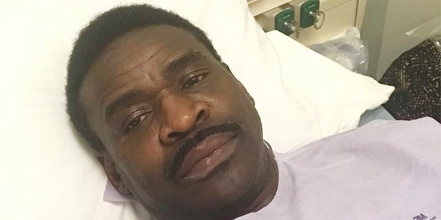 Michael Irvine revealed on Tuesday that he underwent tests for throat cancer.(Instagram/michaelirvin88)