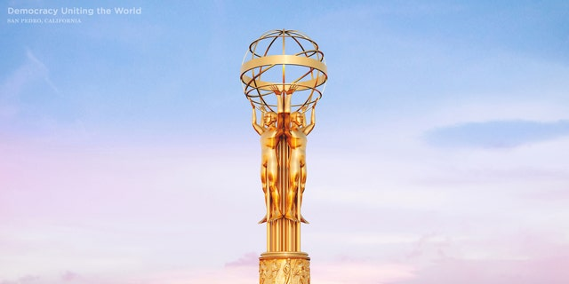 A digital rendering of the unbuilt Democracy Uniting the World monument in San Pedro, California (CashNetUSA)