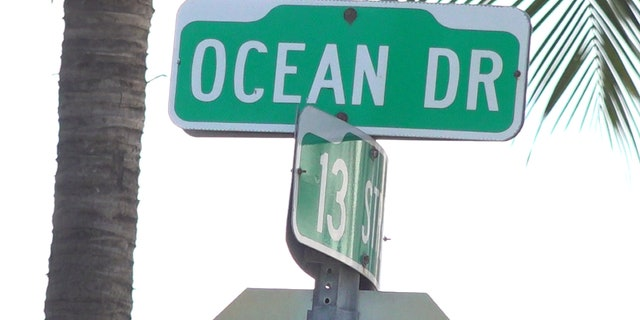 Ocean Drive in Miami Beach is a popular place for many tourists.