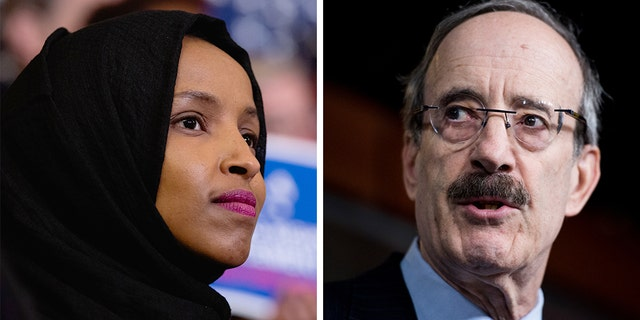 "Rep. Eliot Engel said he was not looking to ""punish"" Rep. Ilhan Omar."