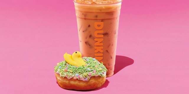 Dunkin' appears to be embracing spring head-on, announcing its latest themed menu options on Wednesday.