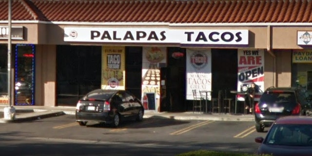 Owner Juan Del Rio says this is the first time someone complained about his signs since opening years ago.