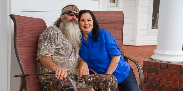 Phil Robertson and his wife Miss Kay. — Duck Commander