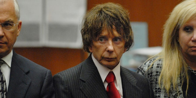 Phil Spector, pictured here at a trial in 2007, was convicted of second-degree murder in 2009.