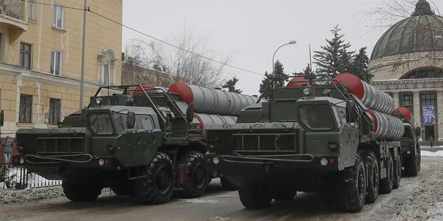 A top U.S. military commander has warned Turkey that should it purchase the S-400 missile system from Russia, pictured here, it should be prepared to forfeit any future weapons deals with the United States