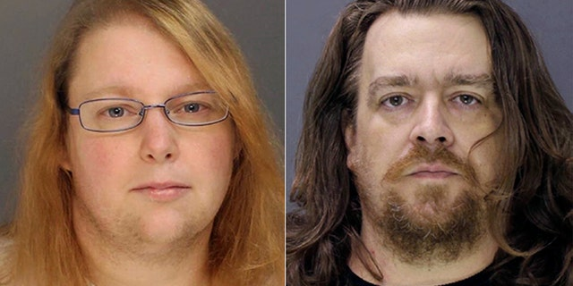 Sara Packer and Jacob Sullivan. (Bucks County District Attorney via AP, File)