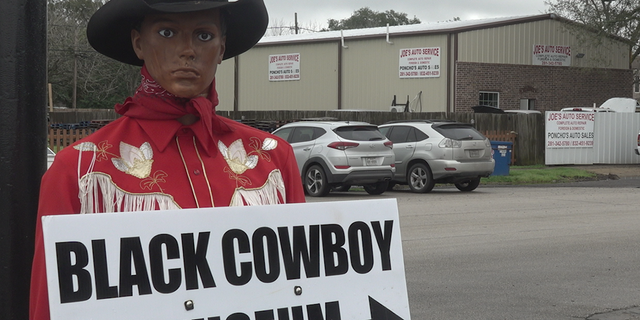 The Black Cowboy Museum is located in Rosenberg, TX, chronicling the hidden history of black cowboys.
