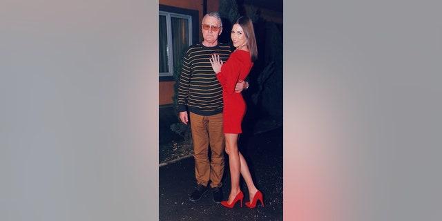 Milojko Bozic, 74, andMilijana Bozic, 21, got married in September.