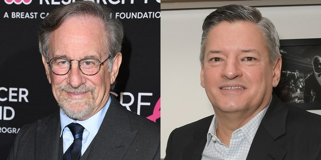 Steven Spielberg and Ted Sarandos have reportedly been meeting to develop a truce over the director's war against Netflix.