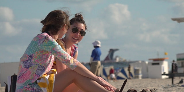 Spring breakers on the beach say this years police campaign is startling, if anything