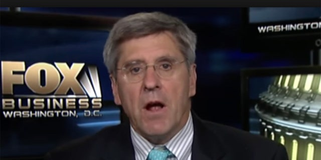 President Donald Trump said Friday that he will nominate Stephen Moore, a conservative economic analyst and frequent critic of the Federal Reserve, to fill a vacancy on the Fed's seven-member board.