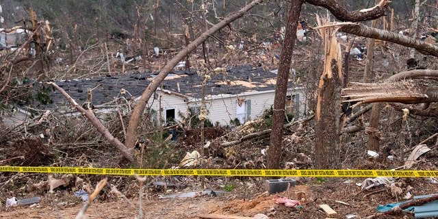 Friends in eastern Alabama are helping tornado survivors retrieve the scattered pieces of their lives after devastating winds destroyed their homes and killed at least 23 people.