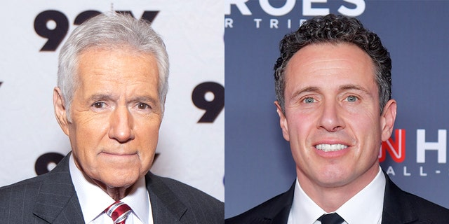 "Alex Trebek's cancer diagnosis gave Chris Cuomo an opportunity to make ""veiled references to President Trump,"" according to a media watchdog."