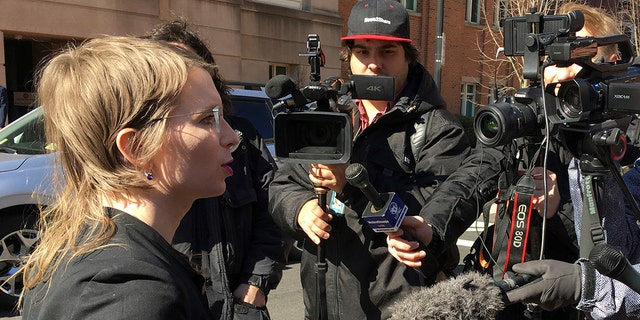 Chelsea Manning was ordered to jail Friday, March 8, 2019, for refusing to testify to a Virginia grand jury investigating Wikileaks.