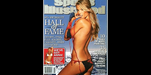 Varekova featured on the front cover of the 2004 Sports Illustrated Swimsuit edition.