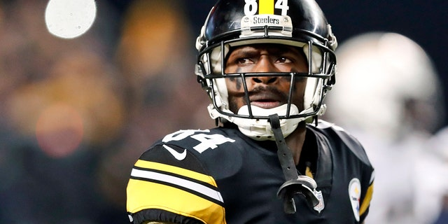 Antonio Brown was on the receiving end of Ben Roethlisberger's criticism last season. (AP Photo/Don Wright, File)