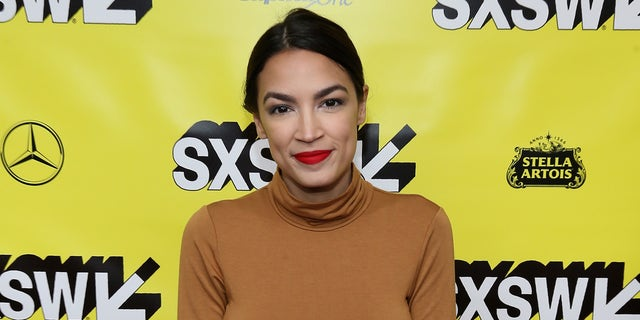 Alexandria Ocasio-Cortez attends the 'Knock Down The House' Premiere during the 2019 SXSW Conference and Festival at the Paramount Theatre on March 10, 2019, in Austin, Texas.