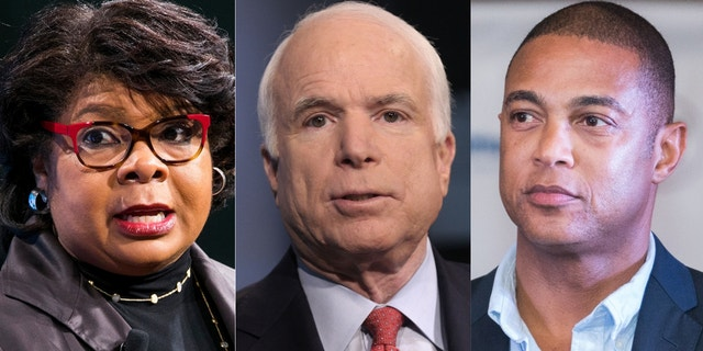 April Ryan, John McCain and Don Lemon