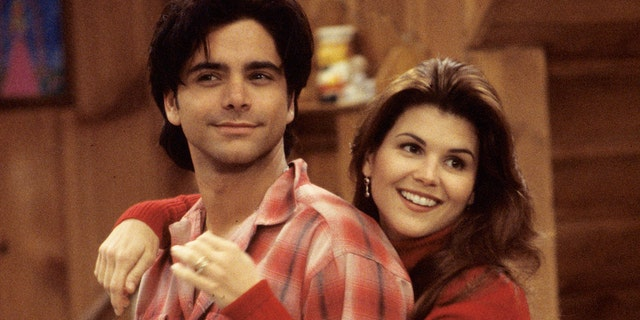 John Stamos (Jesse) and Lori Loughlin (Rebecca) were married on the show.
