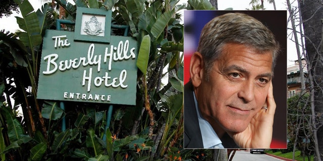 George Clooney's call for a boycott of the Beverly Hills luxury hotel was mocked when