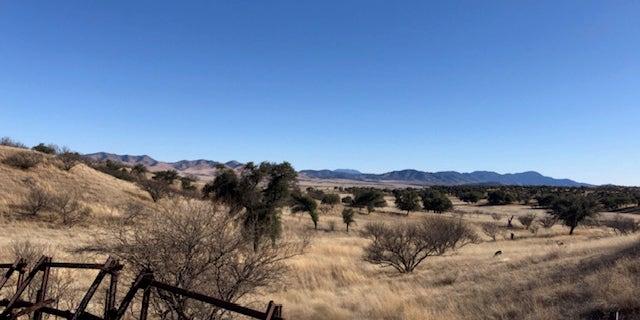 Arizona border with Mexico