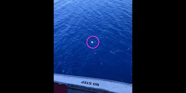 U.S. Coast Guard rescued a downed pilot thanks to the help from a personal tracking device.